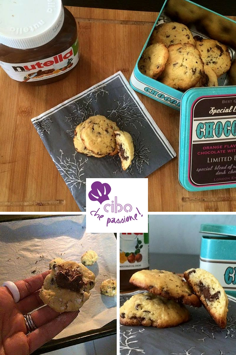COOKIES CON NUTELLA