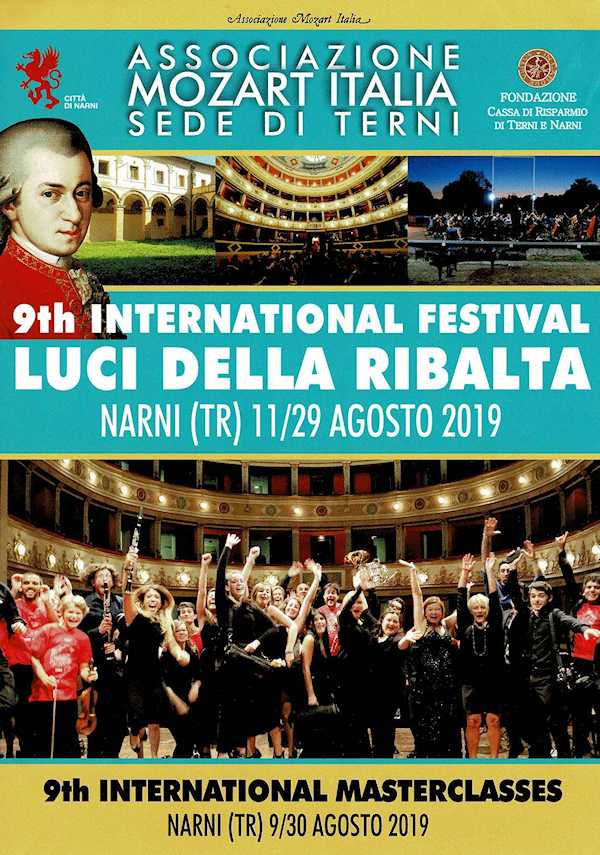 9th International Festival Luci della Ribalta - 9th International Masterclass - Narni 2019