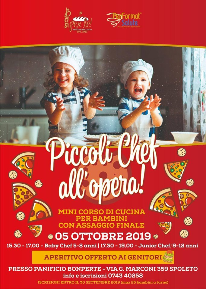 Panificio Bon Per Te: Piccoli Chef all'opera!