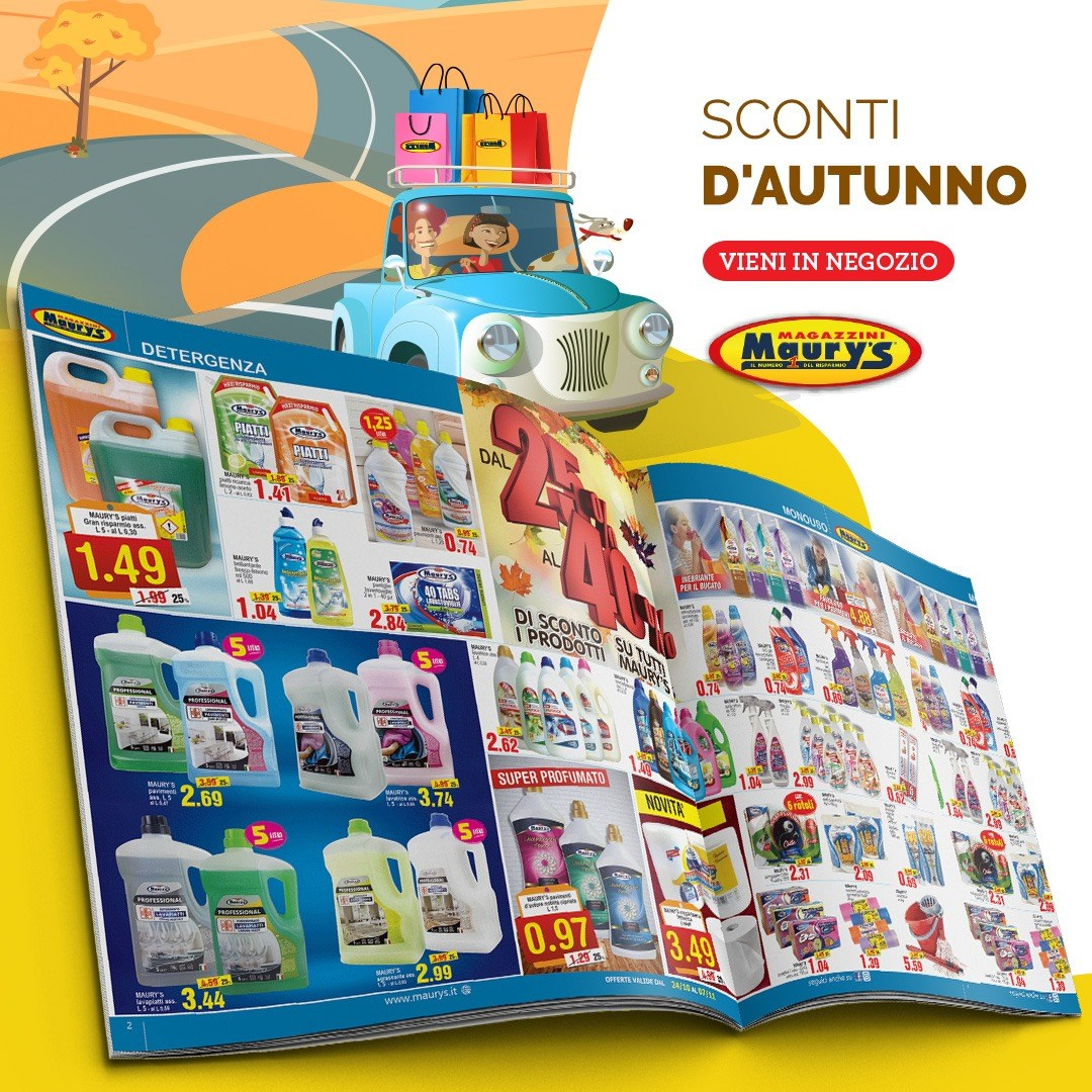 Maury's: Sconti d'autunno