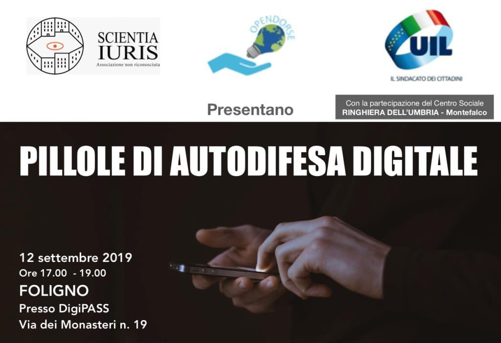 Pillole di Autodifesa digitale